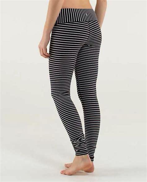 lululemon parallel stripe wunder  pants   lulu pinterest pants winter  colour