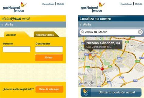 gasnatural oficina virtual gas natural fenosa conoce tu consumo desde el m 243 vil