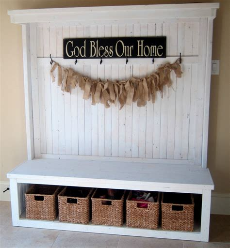 diy entryway nice diy storage bench ideas for easy organizing space