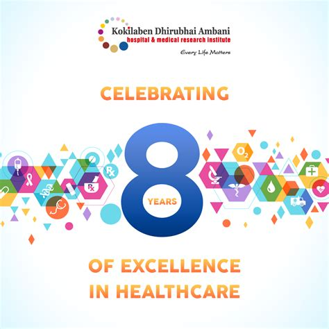 8 years in years celebrating 8 years of excellence in healthcare at kokilaben hospital