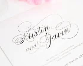 wedding invitations script font top 10 wedding invitations with script wedding invitations