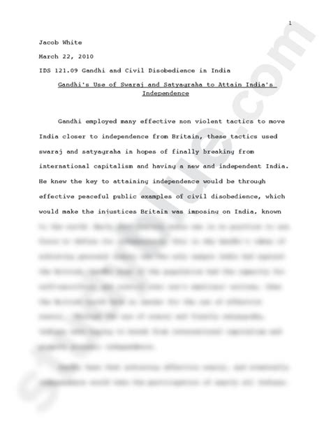 Civil Rights Essay by Civil Rights Movement Research Paper
