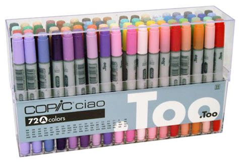 Copic Ciao Set 72 A By Polkapolca x press graph x supplies copic ciao set 72a
