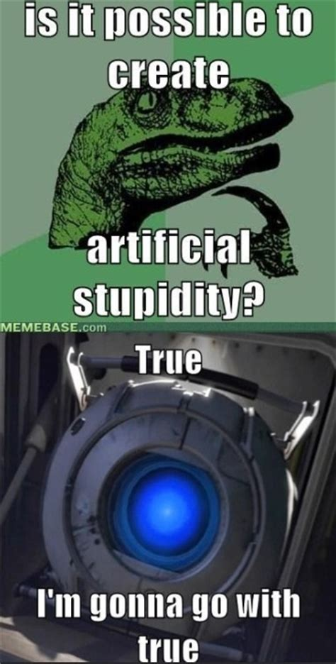 Portal Memes - pin by randal riches on aperture science pinterest