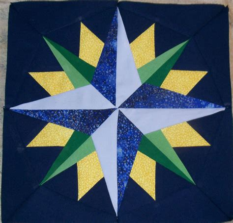 paper pattern blocks mariner s compass quilt blocks by becky crafts from the