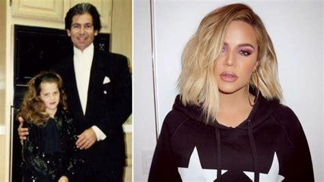 who is khloe kardashian dad alex khloe kardashian biological father hairdresser