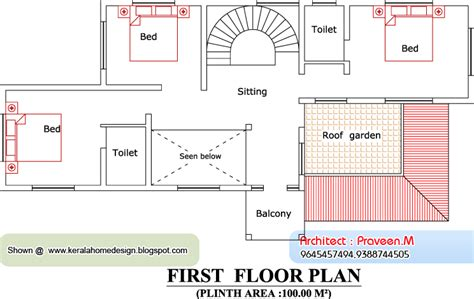 1st floor house plan india home plan and elevation 2604 sq ft home appliance