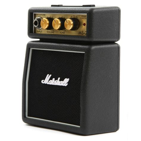 Mini Portable Guitar Lifier Marshall Ms2 Original marshall ms2 mini guitar lifier original black jakartanotebook