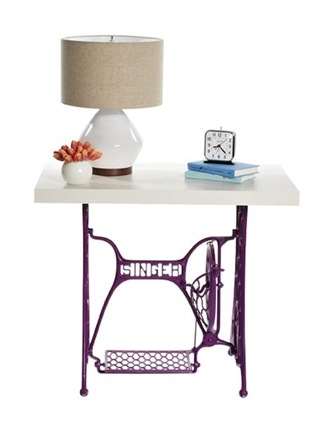 how to make a sewing table how to make a sewing table nightstand hgtv
