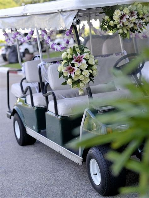 Golf Carts Decorated For by Golf Carts Golf And Decoration On