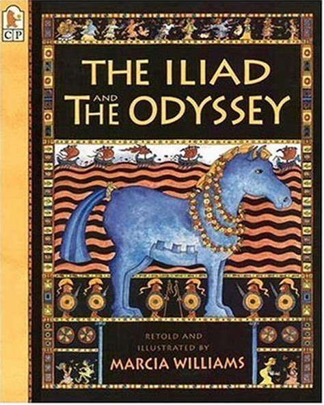 the artist s odyssey books the iliad and the odyssey by marcia williams reviews
