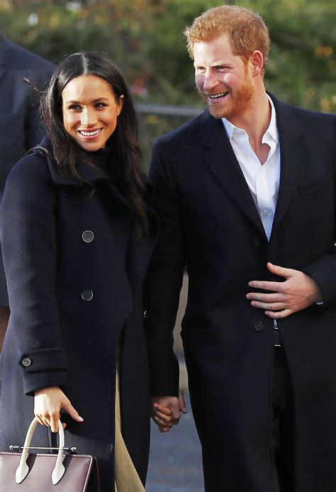 meghan harry prince harry and meghan markle in nottingham people com