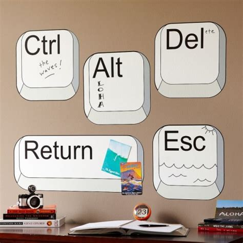 how to make room on your computer wall decals to make your room geeky shelterness