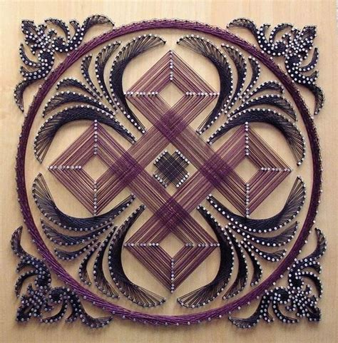 String Mandala - string mandala cards and scrapbooking