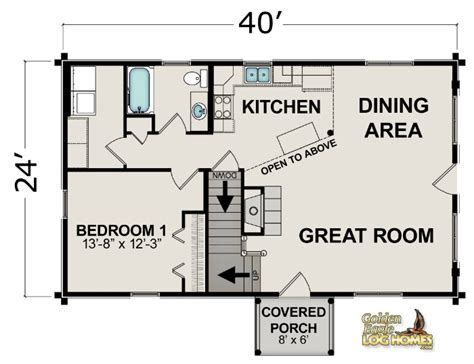 small home floor plans open open floor plans small cabins
