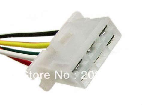 Harnest 15cm longyue 50pcs alternator repair connector 6 pin socket wiring harness 15cm wire in wiring