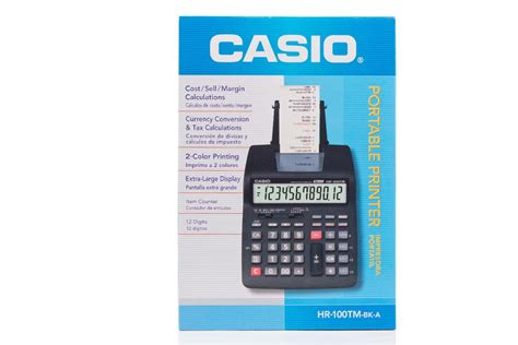 Paket Casio Hr 100 Tm Adaptor jual casio hr 100tm jual kalkulator casio hr 100tm