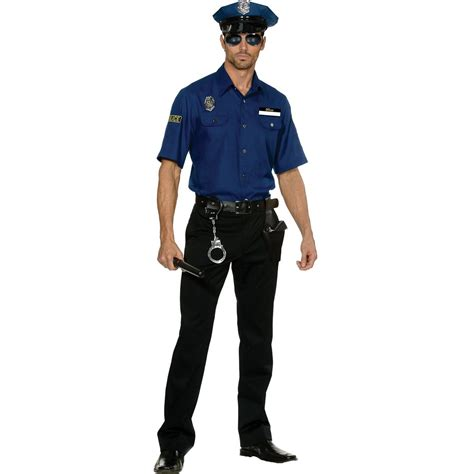 c435 mens cops officer fancy
