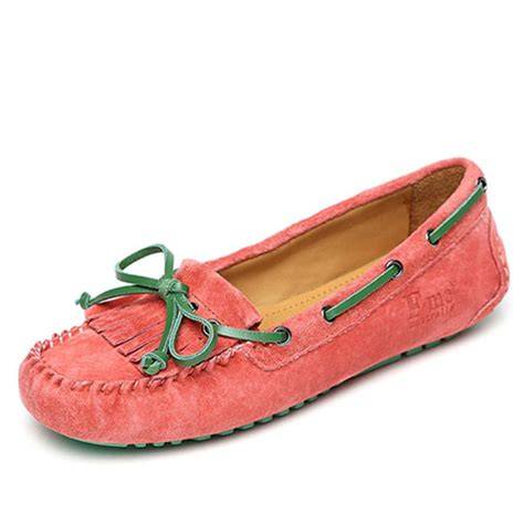 womens leather driving moccasins cw306025
