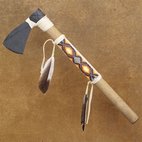 native american indian reproduction artifacts  tomahawks