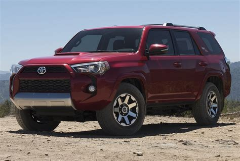 New For 2017 Toyota Trucks Suvs And Vans