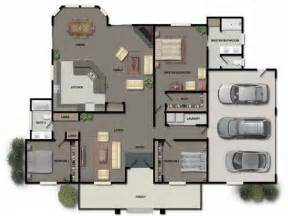 Garage Homes Floor Plans open floor plan modular homes attached garage trend home