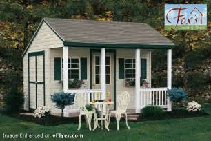Shed Designs With Porch by Storage Shed Plans With Porch Build A Garden Storage