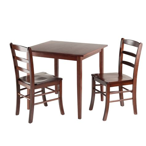 winsome groveland 3 small dining set antique