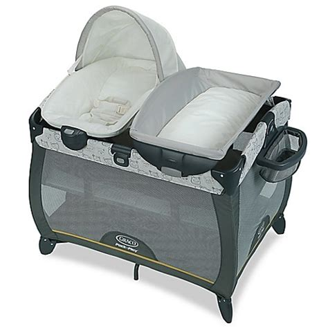 bassinet that connects to bed buy graco 174 pack n play 174 quick connect portable napper