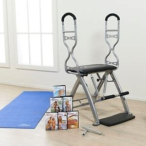 malibu pilates chair malibu pilates pro chair with 7 dvds sculpting handles