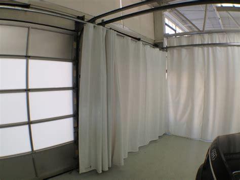 Outdoor Industrial Curtain Akon And Dividers Garage Door Overhead Door Curtains