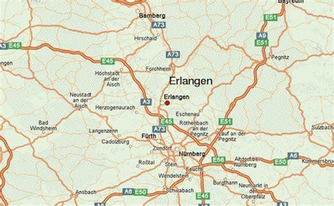 map of erlangen germany erlangen location guide
