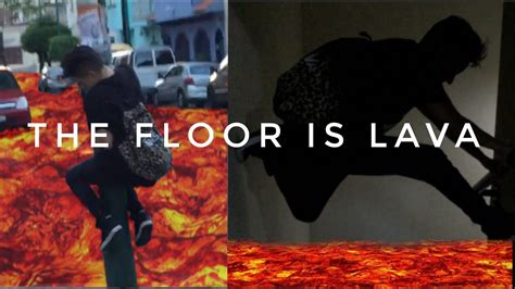 lava l floor l the floor is lava challenge l becky garcia
