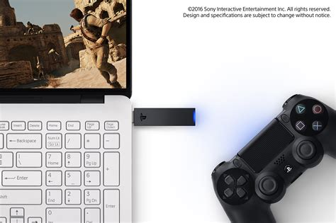 sony reveals new wireless pc adapter for dualshock 4 ps now on pc confirmed playstation 4