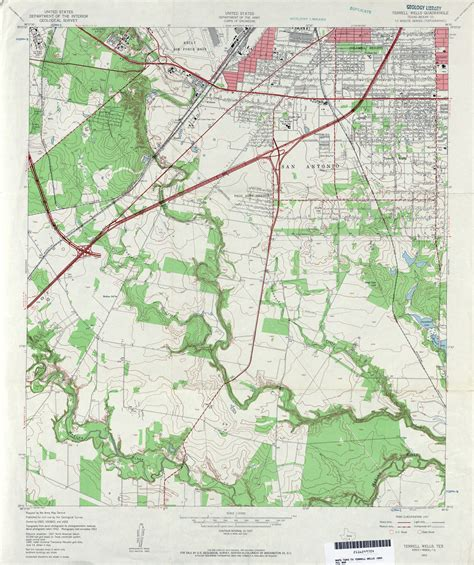 terrell county texas map texas topographic maps perry casta 241 eda map collection ut library
