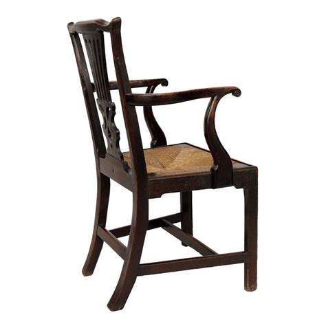 georgian chinese chippendale side chair circa 1760 for english george iii oak chippendale open arm or desk chair