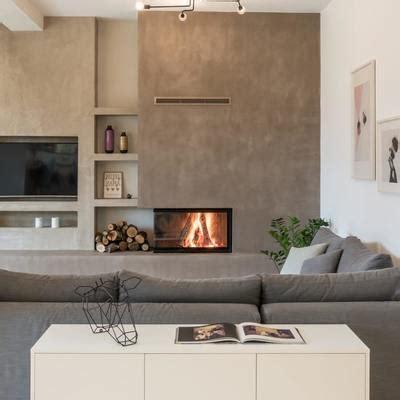 camino tv parete con camino e tv finest soggiorno with parete con