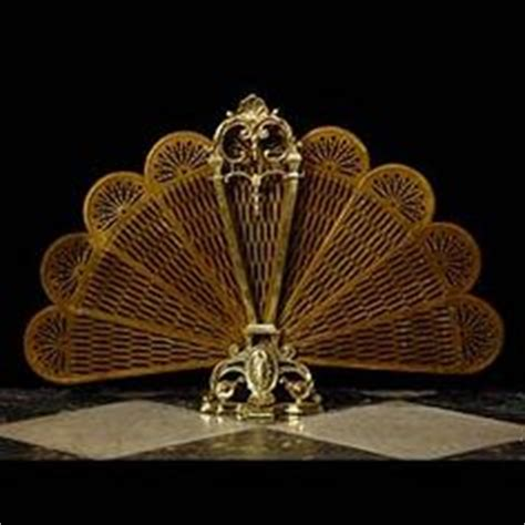 fan shaped fireplace screen 1000 images about antique fire screens on pinterest