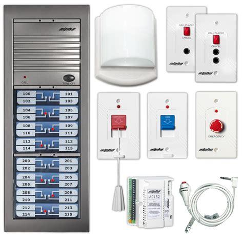 alpha communications alphalinq 100 series audible visual call system u l 1069