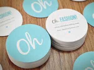 circle shaped business cards oh fashion business cards from a simple logo you get