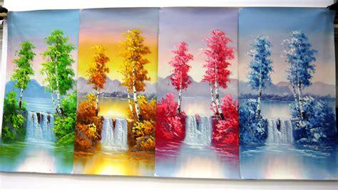 Painting 4 Seasons by Seasons Paintings