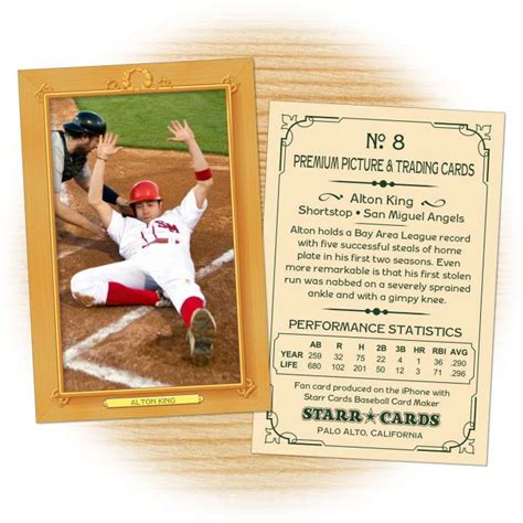 vintage baseball card template custom baseball cards vintage 11 series cards