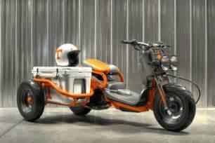 honda ruckus custom win this custom honda ruckus motorcyclist