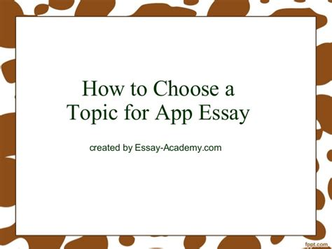 how to choose a topic for research paper how to choose a topic for app essay