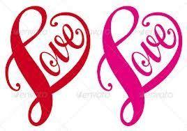 love heart mtc silhouette cameo pinterest