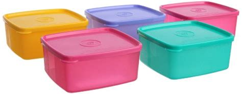 Cool N Fresh Set anmol collections 10101365 tupperware cool n fresh set 5 pieces color may vary price