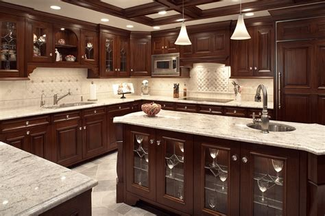 kitchens with dark cabinets and light countertops kitchen remodel project ideas and gallery