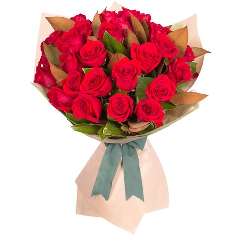 Bouquet Of Roses by Stemmed Bouquet 36 Roses Only Featured