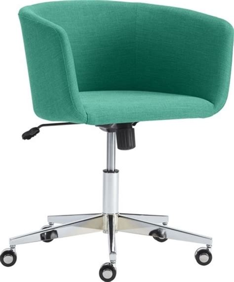 low profile desk chair guest picks superstylish and comfy desk chairs decor ideas