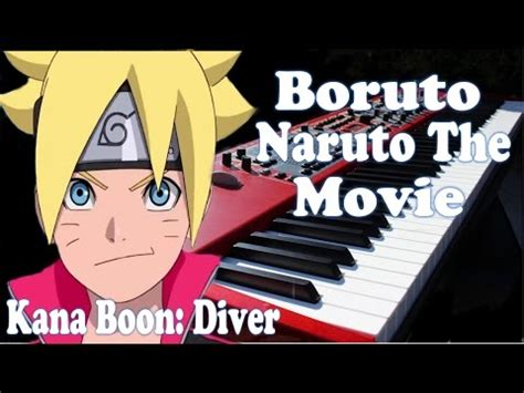boruto opening lyrics hd nightcore boruto naruto the movie diver full